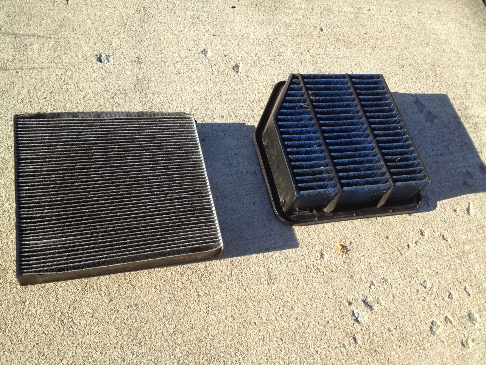 Cleaning The Blitz Engine Air Filter And Cabin Air Filter