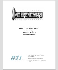 Independents main page