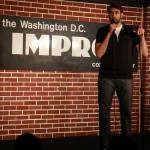 Shahryar MCing at DC Improv on 3/11/2015